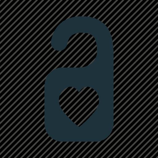 Doorknob, hanger, love, wedding icon - Download on Iconfinder