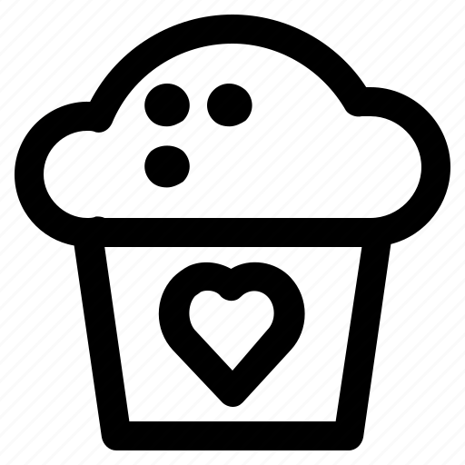 Cake, gift, love, romance, valentine icon - Download on Iconfinder