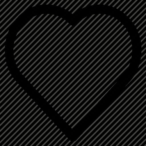 heart, love, romance, romantic, valentine icon