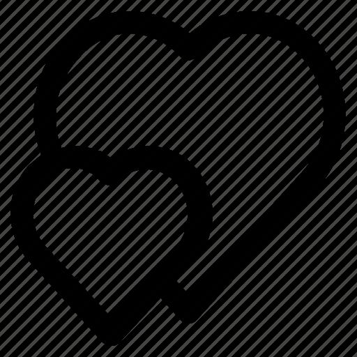 Heart, love, romance, romantic, valentine icon - Download on Iconfinder