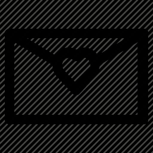 Envelope, love, message, romance, valentine icon - Download on Iconfinder