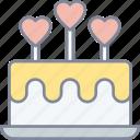 cake, celebration, date, valentine