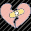 broken, heart, breakup