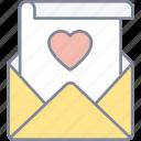 love, letter, mail, valentine