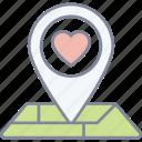 nearby, love, dating, valentine