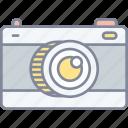 camera, photography, film
