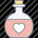 love, potion, heart, valentine