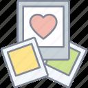 love, photos, polaroids