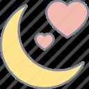 love, night, valentine