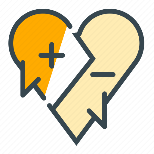 argument, communication, discussion, heart, love, negotiation icon