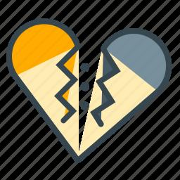 breakup, broke, divorce, love, marriage, seperate, up icon