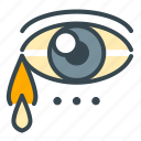 cry, eye, heart, love, marriage, sad, sadness icon