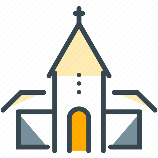 ceremony, church, love, marriage, wedding icon
