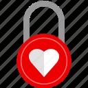 lock, love, romance, romantic icon