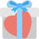 giftbox, present, valentine gift, wishing, xmas gift icon