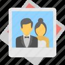 engagement photos, wedding photographs, wedding photos, wedding photoshoot, wedding picture album icon