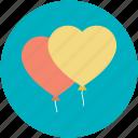 birthday balloon, decoration balloon, heart balloon, party balloon, party decorations