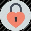 heart lock, love inspiration, privacy, romantic, secret feelings
