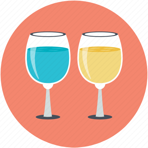 Alcohol, champagne, drink, glasses, wine glasses icon - Download on Iconfinder