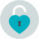heart unlock, love inspiration, privacy, romantic, secret feelings