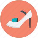 footwear, heel pumps, heel shoes, woman heels, woman shoes icon