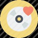 cd, dvd, heart, romantic music, romantic songs