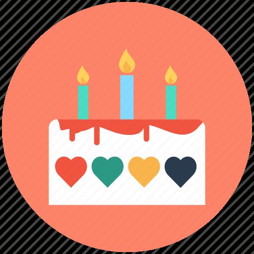 bakery food, cake, dessert, valentine cake, wedding cake icon