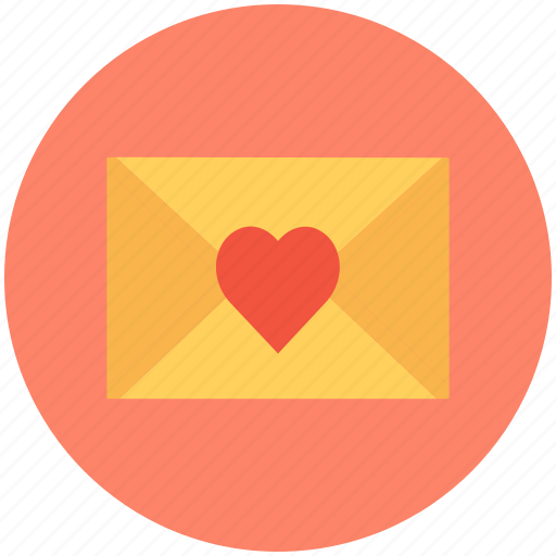 love communication, love correspondence, love greeting, love letter, love message icon
