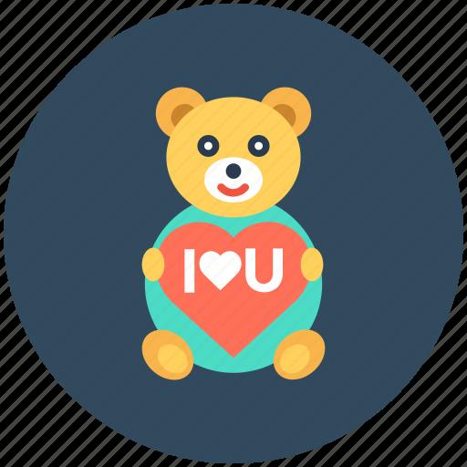 heart sign, love teddy, teddy, teddy bear, toy teddy icon