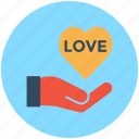 heart in hand, love care, hand, heart care, heart