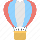 heart shaped balloon, hot air balloon, imaginations of love, love in air, valentines day concepts