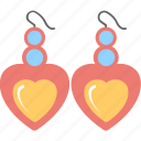 ear-drops, earrings, glamour, jewelry, ornaments icon