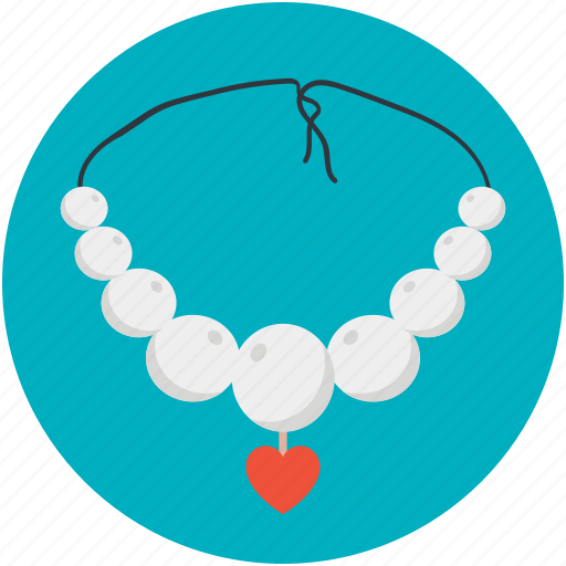 fashion accessory, jewellery, necklace, pendant, valentine gift icon