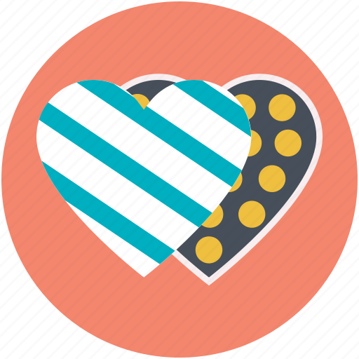 chocolate box, chocolates, heart shaped box, lover gift, valentine gift icon