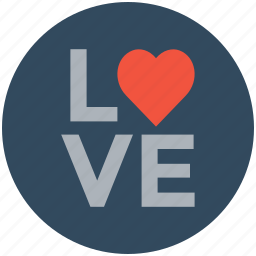 affection, heart, love sign, love sticker, romance icon