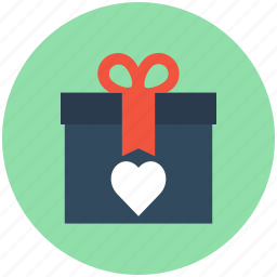 gift, gift box, present, valentine gift, wrapped gift icon