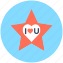 i love you, love sticker, love theme, te amo, valentine day icon