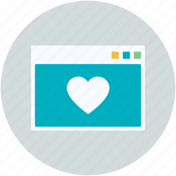 heart, love chatting, lover chatting, romantic chat, web page icon