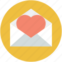 love greeting, love message, love letter, love correspondence, love communication icon