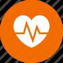 beat, electrocardiogram, healthcare, heart icon