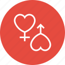 couple, female, love, male, marriage, valentine, wedding icon