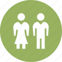 couple, female, male, marriage, valentine, wed icon
