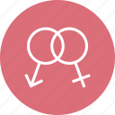 couple, female, male, marriage, valentine, wedding icon