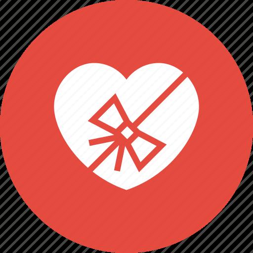 event, gift, heart, prize, romance, valentine, wedding icon