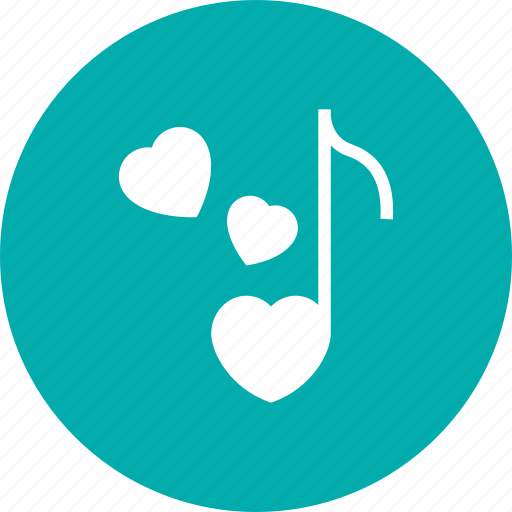 Love, music, note, sing icon - Download on Iconfinder
