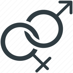 female, gender, male, relationship, sex symbols icon