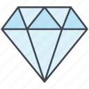 diamond, love, lovely, valentine, valentine's day icon