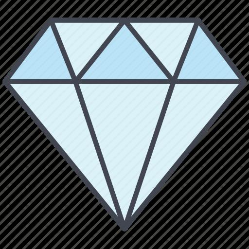 diamond, love, lovely, valentine, valentine's day icon