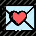 email, heart, letter, love, loveletter, mail