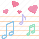 element, festival, melody, music, musical, note, song icon